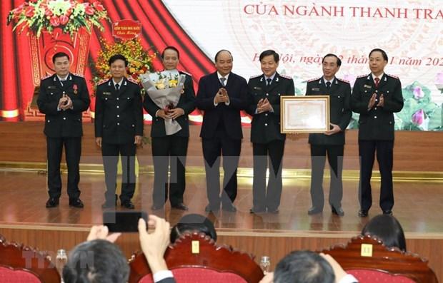 阮春福总理:监察总署的地位与威望不断提升 hinh anh 1