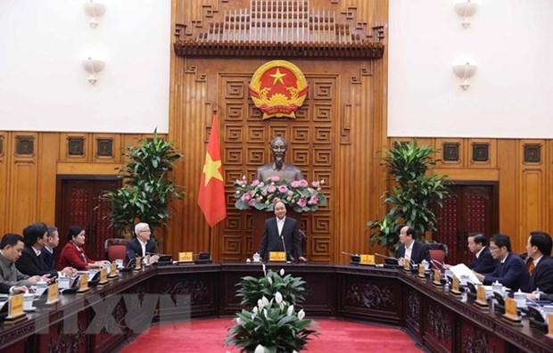 政府总理阮春福:平福省需注重融合发展 对保护生态环境有责 hinh anh 1