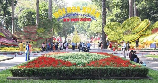 胡志明市辛丑春节花卉节将延长12天 hinh anh 1