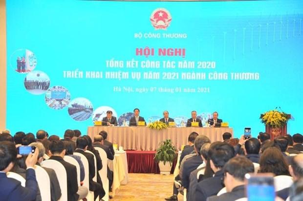 在发展经济过程中发挥《三驾马车》的作用有助于越南达到2021年经济增长目标 hinh anh 1