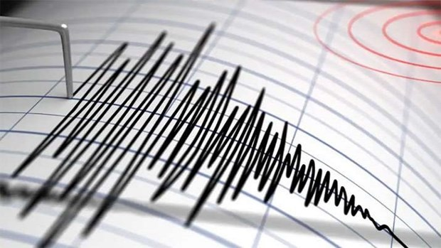 印度尼西亚今日凌晨再次发生地震 数百人受伤 大批建筑物受损 hinh anh 1