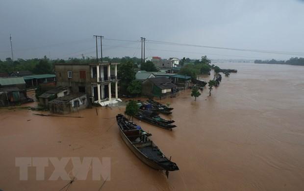印度政府向越南中部各省受灾灾民提供援助 hinh anh 1