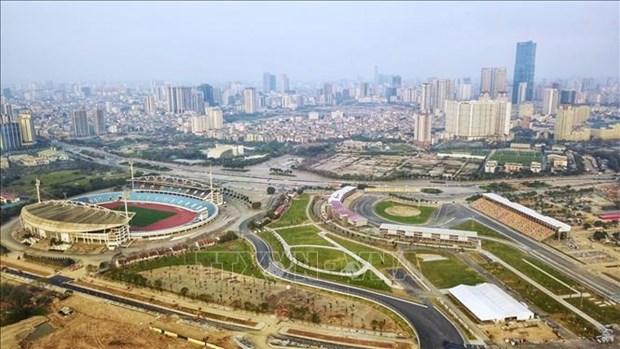 河内市力争在9月30日前完成第31届东南亚运动会基础设施改造升级工作 hinh anh 1