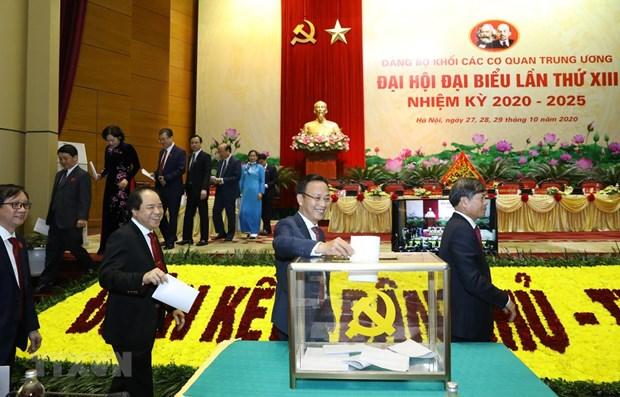 越南干部选拔任用工作一向得到党的高度重视并实现新作为 hinh anh 1