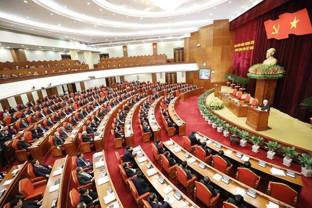 越南共产党第十二届中央委员会第十五次全体会议隆重开幕 hinh anh 1