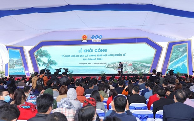 广平FLC五星级酒店和国际会议中心动工兴建 hinh anh 1
