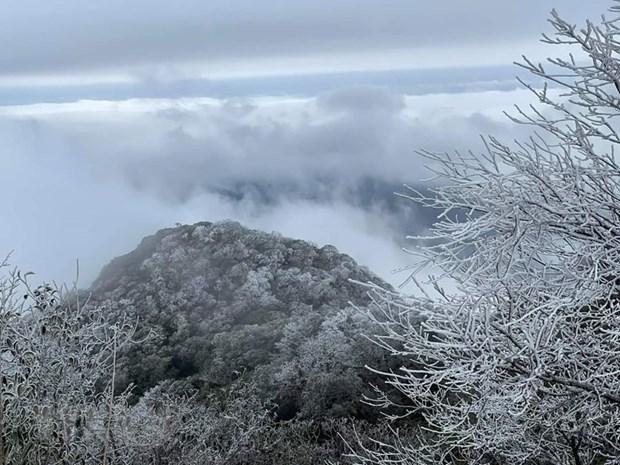 北部迎接新一股强冷空气来袭 山区预防结冰下雪天气 hinh anh 1