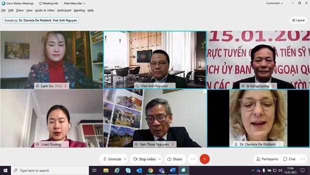 德国议会对外委员会主持有关东海问题视频研讨会 hinh anh 1