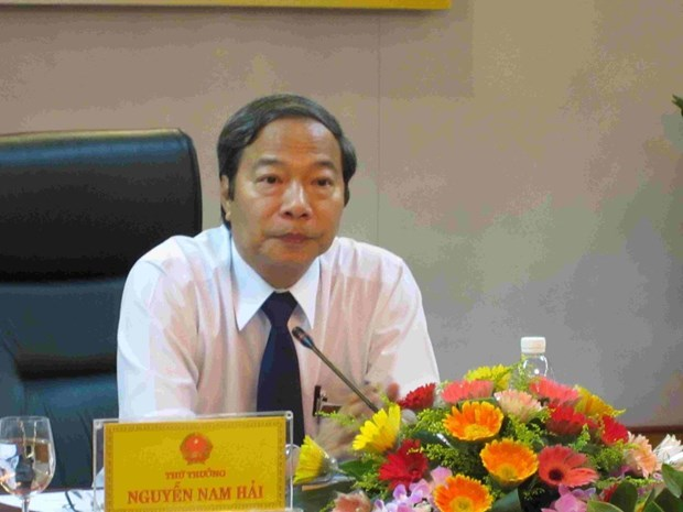 武辉煌及其同案犯案:传唤原工贸部副部长阮南海和18名涉案人员 hinh anh 1