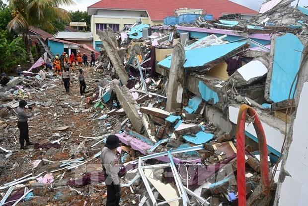 印尼西苏拉威西省继续发生4.2级地震 hinh anh 1