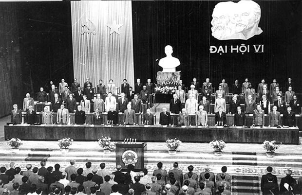 党的辉煌征程:党的第六次全国代表大会:开启国家革新事业 hinh anh 1