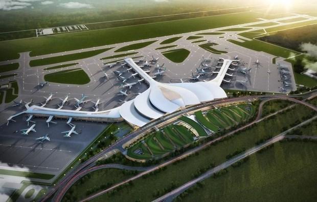 连接隆城机场的四条交通干道即将兴建 hinh anh 1