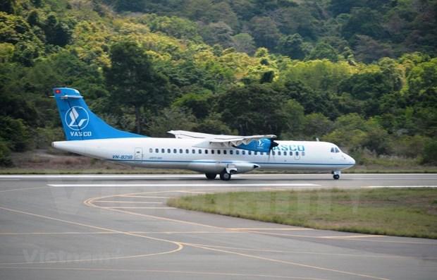 越航与越南航空服务公司重新开通胡志明市-迪石市航线 hinh anh 1