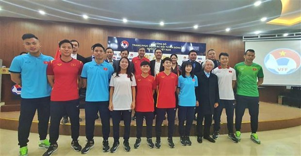 越南国家足球队队服正式亮相 hinh anh 3