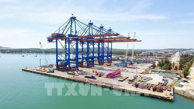 Germalink国际港一期工程正式投产 hinh anh 1
