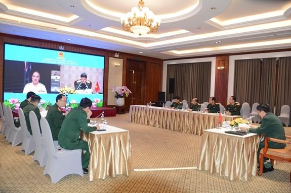 越南国防部代表出席香格里拉对话预备会议——第九次富丽敦论坛 hinh anh 2