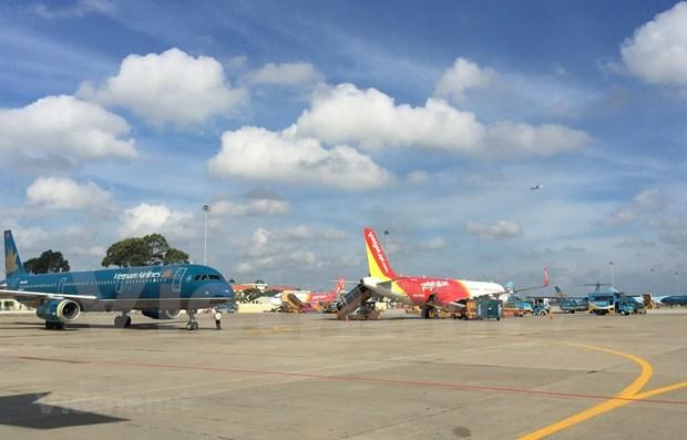 越南各家航空公司增加运力迎春运 日航班量最高达1200架次 hinh anh 1