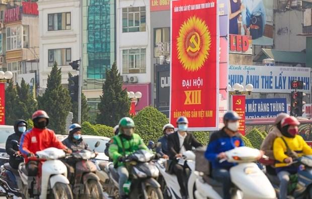 俄罗斯报刊:越共十三大是越南政治和社会生活中的历史性里程碑 hinh anh 1