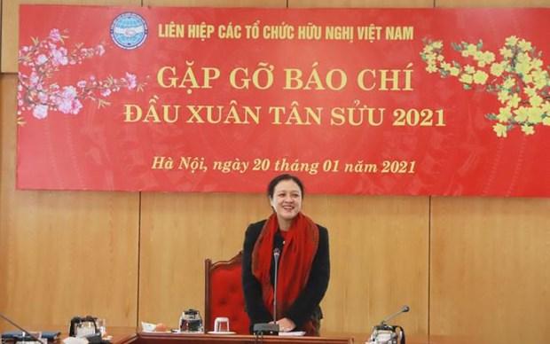 2020年--越南民间外交获得成功的一年 hinh anh 1