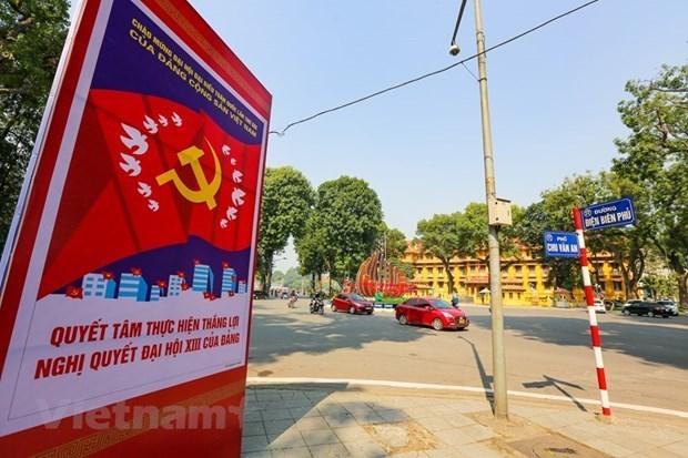 越共十三大:旅德越南人对未来国家发展前景充满信心 hinh anh 1