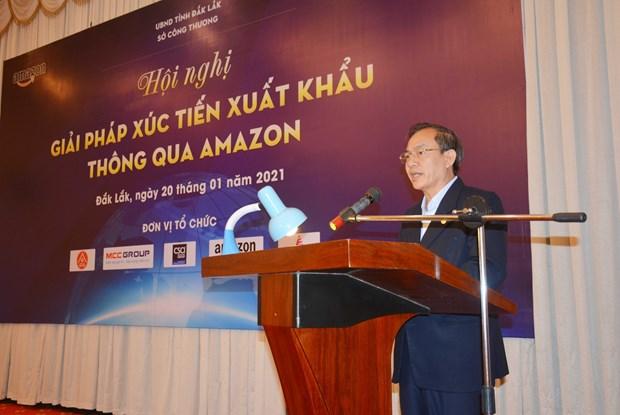 得乐省企业希望通过亚马逊电子商务平台加大商品出口力度 hinh anh 1