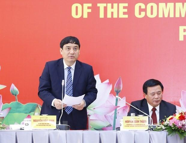 代表全国510多万名党员的1587名代表出席出席越共十三大 hinh anh 2