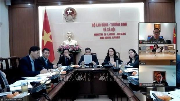 越南—以色列劳务合作谈判启动 hinh anh 1
