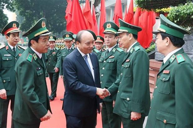 阮春福总理:边防部队全力以赴有效打击非法入境活动 hinh anh 2
