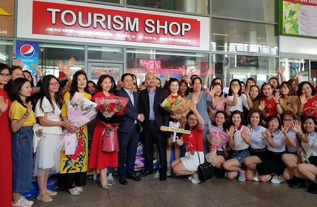 岘港市接待700名MICE游客 hinh anh 1