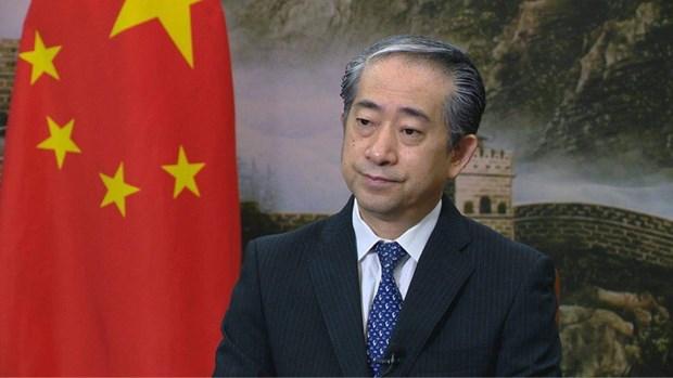 中国驻越大使熊波:越共十三大的胜利召开必将为越南经济社会发展注入新的动力和巨大稳定性 hinh anh 1