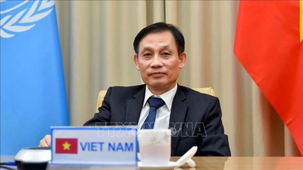 外交部副部长黎怀忠:保护国家和民族利益 致力于维护国际和平与安全 hinh anh 1