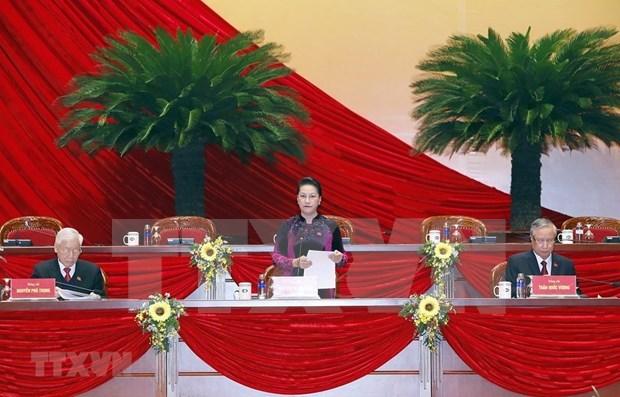 越共十三大筹备会议发表新闻公报 hinh anh 2