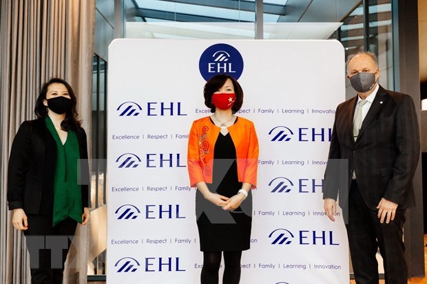 越南Cityland Education与瑞士洛桑酒店管理学院加强合作 hinh anh 2