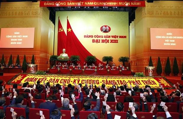 越共十三大筹备会议发表新闻公报 hinh anh 1