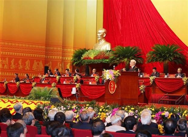 越共十三大:国家发展方向中突出的许多新问题 hinh anh 1