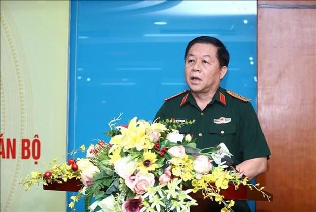 越共十三大:在党领导下的捍卫祖国任务中取得的成就成为重要支柱 hinh anh 1