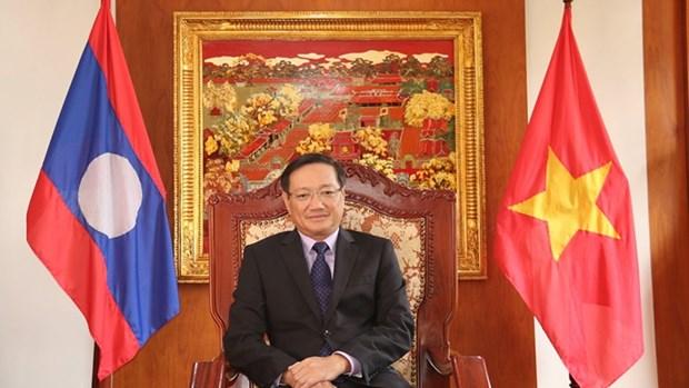 越南与老挝之间关系是典范罕见的 hinh anh 1