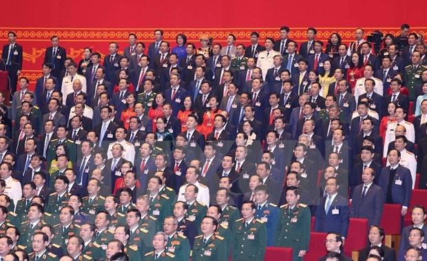 外国政党、组织和国际友人祝贺越共十三大召开 hinh anh 2