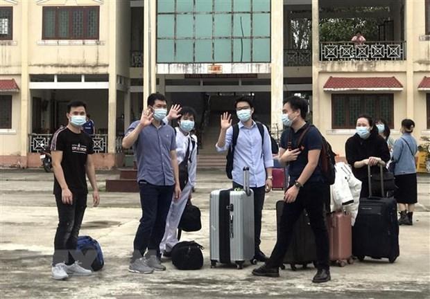 越南无新增新冠肺炎确诊病例 累计治愈病例1430例 hinh anh 1