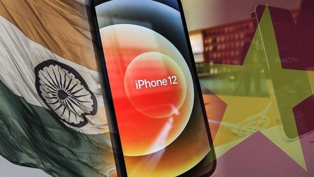 日本媒体:苹果加快将产能转移到印度和越南的步伐 hinh anh 2