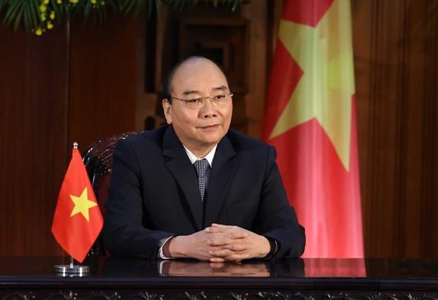 越南政府总理阮春福:将气候变化带来的挑战转化为所有人实现可持续发展的机遇 hinh anh 1