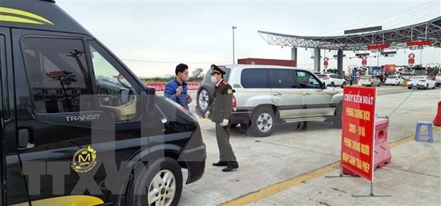 海防市通往海阳省与广宁省的长途客运和轮渡自1月28日18时起暂停运营 hinh anh 1