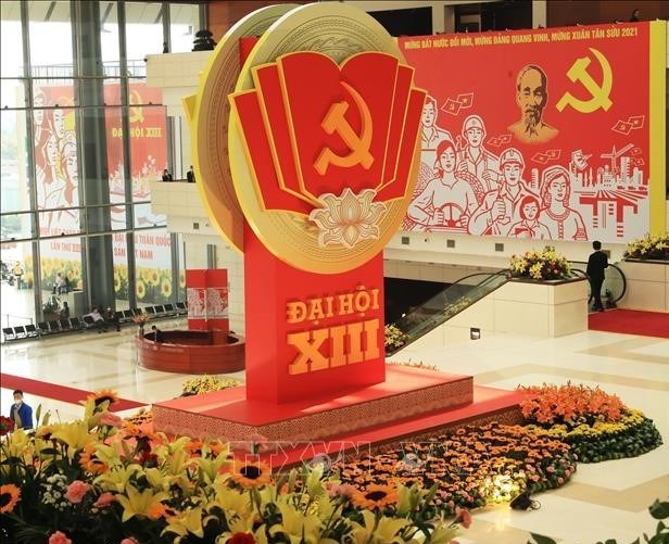 Stratfor网站:越共十三大是确保越南政治稳定的因素 hinh anh 1