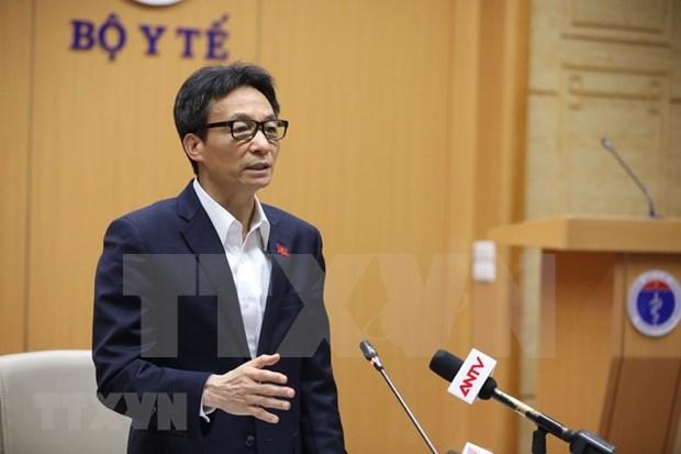 武德儋副总理:坚持疫情防控中人民利益至上原则 hinh anh 2