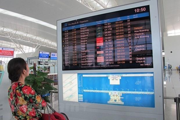 越南各家航空公司的航班准点率高达95.4% hinh anh 1