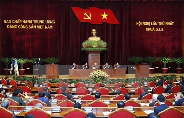 越共十三大:外国媒体纷纷报道越共十三大投票选举产生新一届领导班子 hinh anh 1
