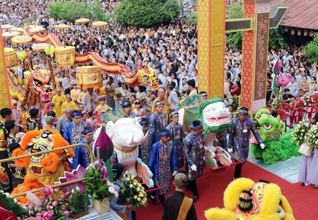 岘港市五行山观世音菩萨庙会被列入国家非物质文化遗产名录 hinh anh 1
