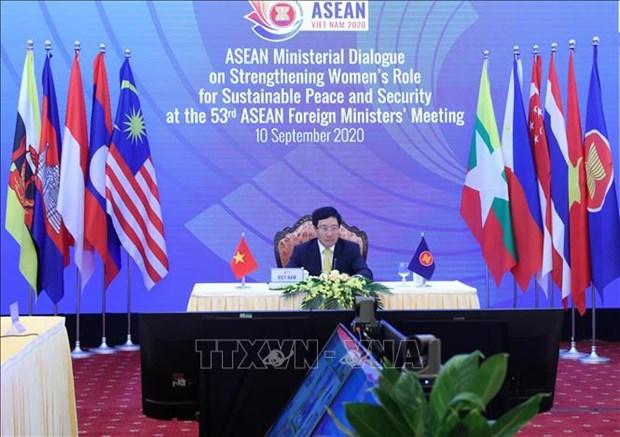 越南在发挥女性作用和促进女性赋权方面留下深刻的印象 hinh anh 1
