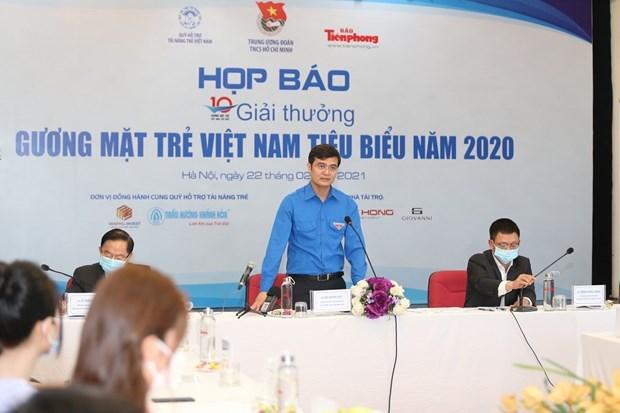 20人入选2020年越南优秀青年人才奖在线评选活动 hinh anh 1