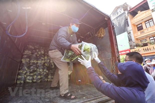 河内市帮助海阳省促进农产品销售 hinh anh 1